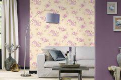 423976 cikkszámú tapéta.Egyszínű,különleges felületű,textilmintás,lila,lemosható,illesztés mentes,vlies tapéta
