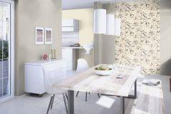 424041 cikkszámú tapéta.Egyszínű,különleges felületű,textilmintás,bézs-drapp,lemosható,illesztés mentes,vlies tapéta