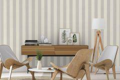 424119 cikkszámú tapéta.Csíkos,különleges felületű,textilmintás,fehér,szürke,lemosható,illesztés mentes,vlies tapéta