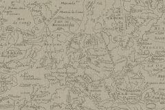 424522 cikkszámú tapéta.Feliratos-számos,különleges felületű,különleges motívumos,rajzolt,barna,lemosható,vlies tapéta