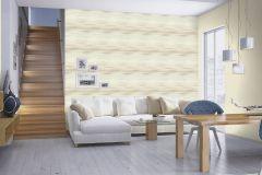 424058 cikkszámú tapéta.Egyszínű,különleges felületű,textilmintás,bézs-drapp,lemosható,illesztés mentes,vlies tapéta