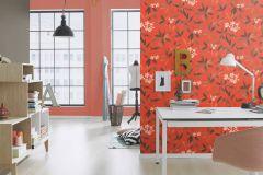 423969 cikkszámú tapéta.Egyszínű,különleges felületű,textilmintás,piros-bordó,lemosható,illesztés mentes,vlies tapéta