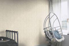 425512 cikkszámú tapéta.Absztrakt,különleges felületű,textilmintás,bézs-drapp,fehér,lemosható,vlies tapéta