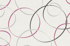 700008 cikkszámú tapéta.Absztrakt,emberek-sztárok,különleges felületű,retro,fehér,fekete,pink-rózsaszín,szürke,lemosható,vlies tapéta