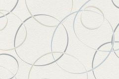 700022 cikkszámú tapéta.Absztrakt,geometriai mintás,gyerek,különleges felületű,retro,bézs-drapp,fehér,kék,szürke,lemosható,vlies tapéta