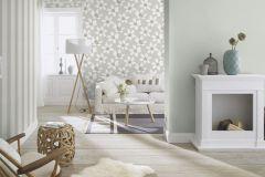 700121 cikkszámú tapéta.Gyerek,különleges felületű,természeti mintás,virágmintás,fehér,fekete,szürke,lemosható,vlies tapéta