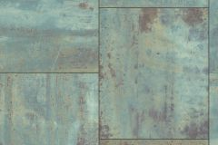 318012 cikkszámú tapéta.Fémhatású - indusztriális,kőhatású-kőmintás,barna,bronz,türkiz,lemosható,vlies tapéta