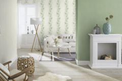 536003 cikkszámú tapéta.Dekor,természeti mintás,fehér,zöld,lemosható,illesztés mentes,vlies tapéta