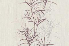 536034 cikkszámú tapéta.Dekor,természeti mintás,fehér,lila,lemosható,illesztés mentes,vlies tapéta
