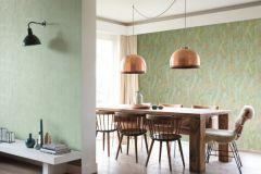 540949 cikkszámú tapéta.Absztrakt,dekor,bronz,türkiz,zöld,lemosható,illesztés mentes,vlies tapéta