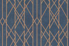 215144 cikkszámú tapéta.Absztrakt,arany,kék,gyengén mosható,papír tapéta