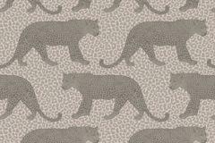 215304 cikkszámú tapéta.állatok,bézs-drapp,gyengén mosható,papír tapéta