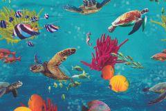 310405 cikkszámú tapéta.állatok,fotórealisztikus,barna,kék,narancs-terrakotta,pink-rózsaszín,sárga,zöld,lemosható,papír tapéta