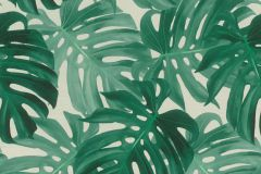403817 cikkszámú tapéta.Természeti mintás,vajszín,zöld,lemosható,vlies tapéta