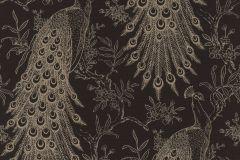 405811 cikkszámú tapéta.állatok,természeti mintás,arany,fekete,lemosható,vlies tapéta