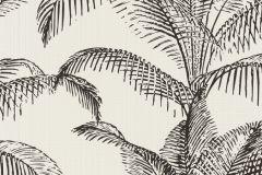 406801 cikkszámú tapéta.Természeti mintás,fehér,fekete,lemosható,vlies tapéta
