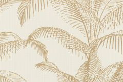 406818 cikkszámú tapéta.Természeti mintás,arany,fehér,lemosható,vlies tapéta