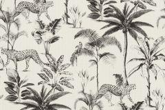 409017 cikkszámú tapéta.állatok,természeti mintás,fehér,fekete,lemosható,vlies tapéta