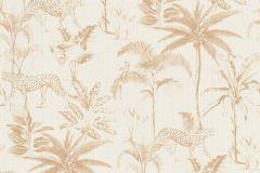 409024 cikkszámú tapéta.állatok,természeti mintás,arany,fehér,lemosható,vlies tapéta