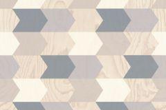 638226 cikkszámú tapéta.3d hatású,fa hatású-fa mintás,geometriai mintás,bézs-drapp,fehér,kék,szürke,lemosható,vlies tapéta