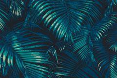 822915 cikkszámú tapéta.3d hatású,metál-fényes,természeti mintás,fekete,kék,lemosható,vlies tapéta