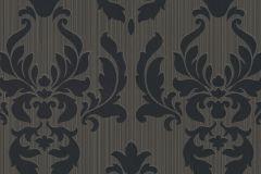 433036 cikkszámú tapéta.Barokk-klasszikus,barna,fekete,szürke,lemosható,vlies tapéta