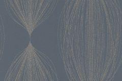 523447 cikkszámú tapéta.Absztrakt,csíkos,csillámos,különleges felületű,különleges motívumos,retro,textil hatású,gyöngyház,kék,türkiz,lemosható,vlies tapéta