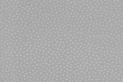 523621 cikkszámú tapéta.Csillámos,különleges felületű,pöttyös,retro,textil hatású,fehér,gyöngyház,szürke,lemosható,vlies tapéta