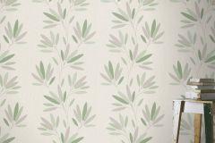 808735 cikkszámú tapéta.Dekor,különleges felületű,természeti mintás,virágmintás,fehér,lila,zöld,lemosható,illesztés mentes,vlies tapéta