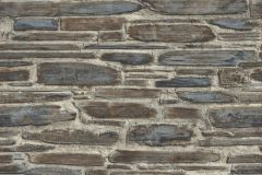 863420 cikkszámú tapéta.Kőhatású-kőmintás,különleges felületű,barna,kék,szürke,lemosható,vlies tapéta