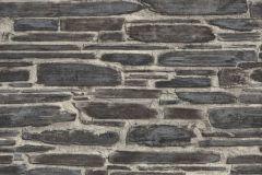 863437 cikkszámú tapéta.Kőhatású-kőmintás,különleges felületű,barna,szürke,vajszín,lemosható,vlies tapéta