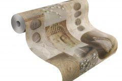 306330 cikkszámú tapéta.Kőhatású-kőmintás,különleges felületű,különleges motívumos,rajzolt,természeti mintás,barna,bézs-drapp,lemosható,papír tapéta