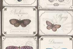 306507 cikkszámú tapéta.állatok,feliratos-számos,gyerek,különleges felületű,különleges motívumos,rajzolt,retro,természeti mintás,barna,bézs-drapp,kék,pink-rózsaszín,vajszín,lemosható,papír tapéta