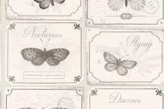 306514 cikkszámú tapéta.állatok,feliratos-számos,gyerek,különleges felületű,különleges motívumos,rajzolt,retro,természeti mintás,fehér,fekete,szürke,vajszín,lemosható,papír tapéta
