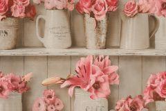 307719 cikkszámú tapéta.3d hatású,csíkos,feliratos-számos,konyha-fürdőszobai,különleges felületű,különleges motívumos,rajzolt,retro,bézs-drapp,bronz,narancs-terrakotta,pink-rózsaszín,szürke,vajszín,lemosható,papír tapéta