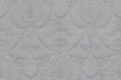 532128 cikkszámú tapéta.Barokk-klasszikus,különleges felületű,metál-fényes,ezüst,szürke,lemosható,vlies tapéta