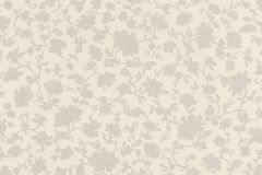 532449 cikkszámú tapéta.Barokk-klasszikus,különleges felületű,virágmintás,bézs-drapp,szürke,lemosható,vlies tapéta