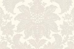532715 cikkszámú tapéta.Barokk-klasszikus,különleges felületű,bézs-drapp,gyöngyház,lemosható,vlies tapéta