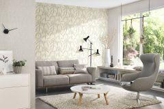 402001 cikkszámú tapéta.Különleges felületű,természeti mintás,fehér,szürke,zöld,lemosható,vlies tapéta
