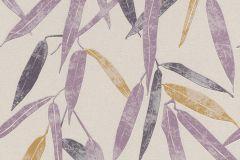 402018 cikkszámú tapéta.Különleges motívumos,természeti mintás,lila,sárga,lemosható,vlies tapéta