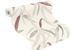 402032 cikkszámú tapéta.Különleges felületű,természeti mintás,fehér,piros-bordó,szürke,lemosható,vlies tapéta