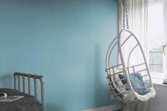402469 cikkszámú tapéta.Egyszínű,különleges felületű,kék,lemosható,illesztés mentes,vlies tapéta
