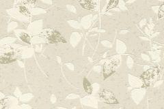 402513 cikkszámú tapéta.Csillámos,különleges felületű,virágmintás,arany,bézs-drapp,ezüst,fehér,lemosható,vlies tapéta