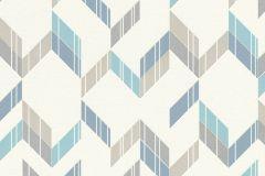 402810 cikkszámú tapéta.Absztrakt,csillámos,különleges felületű,fehér,kék,szürke,türkiz,lemosható,vlies tapéta