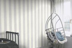 402919 cikkszámú tapéta.Csíkos,különleges felületű,fehér,lila,lemosható,illesztés mentes,vlies tapéta