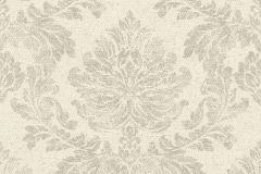 802610 cikkszámú tapéta.Barokk-klasszikus,textil hatású,bézs-drapp,szürke,lemosható,vlies tapéta