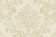 802627 cikkszámú tapéta.Barokk-klasszikus,textil hatású,bézs-drapp,vajszín,lemosható,vlies tapéta