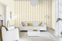 802719 cikkszámú tapéta.Csíkos,textil hatású,bézs-drapp,lemosható,illesztés mentes,vlies tapéta