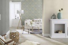 802641 cikkszámú tapéta.Barokk-klasszikus,textil hatású,barna,kék,lemosható,vlies tapéta
