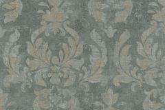 467413 cikkszámú tapéta.Barokk-klasszikus,retro,bronz,zöld,lemosható,vlies tapéta